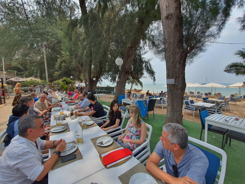Bacco Beach Relaxing Sunday Brunch Italian Restaurant